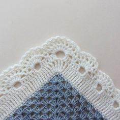 Kare Bebek Battaniyesi Yapılışı 3