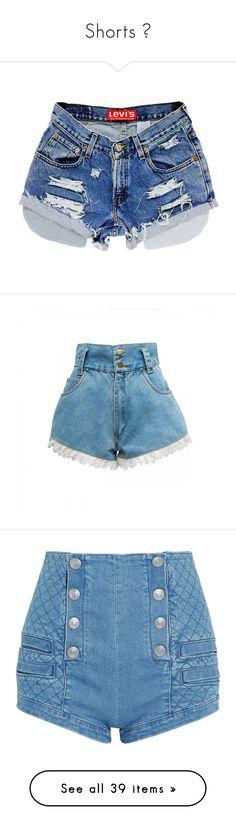 """Shorts 👖"" by jessbbz ❤ liked on Polyvore featuring shorts, bottoms, short, pants, women's clothing, grey, zipper pocket shorts, cutoff denim shorts, short shorts and ripped jean shorts"