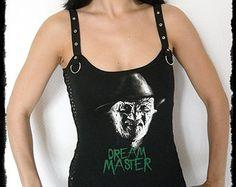 Freddy shirt Nightmare on Elm Street Tank top Strap top S
