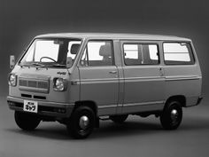 Nissan Sunny Cab Van (C20) '08.1969–78