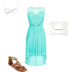 teal summer dress - Google Search