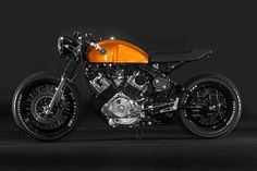 Very Sweet retro styled Yamaha XV750