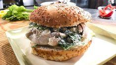 Sandwich au poulet classique | Mordu Sandwiches, Le Chef, Cold Meals, Lunch, Snacks, Chicken, Ethnic Recipes, Cold Food, Bob
