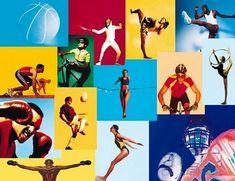 sports collage sportivo atleti varie discipline