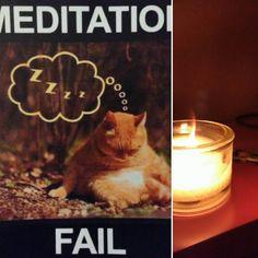 Torno a casa dal master e penso che ho proprio voglia della mia meditazione. Poi mi ricordo del biglietto di auguri delle mie amiche e mi viene da ridere! #sorridoconpoco