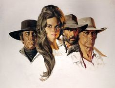 By Sergio Leone with Charles Bronson ,Henry Fonda and Claudia Cardinale. If your going to put a Magnet on you Fridge Make sure its Large enough so you can see it ! It's Art for your Fridge. Collect them, give them as gifts or decorate your r efrigerator. Stella Art, Mc Carthy, Sergio Leone, Charles Bronson, Henry Fonda, Claudia Cardinale, Italian Beauty, Western Movies, Le Far West