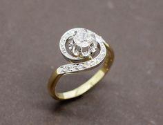 Bague Tourbillon Diamant