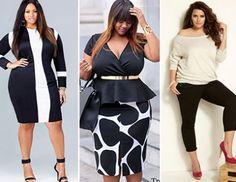 Plus size: branco e preto | Meninas e Sapatos, o blog da Bottero