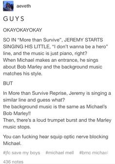 Also, while the Squip is talking about Jeremy doing push ups, you briefly here the Michael in the bathroom theme, sped up, so it sounds like a text or call ringtone. <<i simultaneously love and hate these microanalysis type things Theatre Nerds, Musical Theatre, Theater, George Salazar, Michael In The Bathroom, Be More Chill Musical, Michael Mell, Dear Evan Hansen, Broadway
