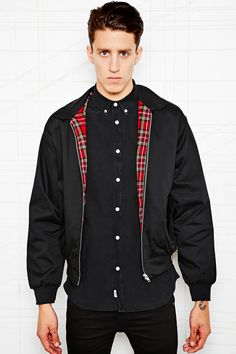 Vintage Renewal Harrington Jacket #HardcoreStyle #Music #Guys #MenClothing #MenFashion #BestOutfits http://www.urbanoutfitters.co.uk/vintage-renewal-harrington-jacket/invt/5423402150091/