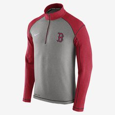 REPRESENT YOUR TEAM The Nike Dri-FIT Touch Fleece Half-Zip (MLB Red Sox) Men's Training Top features soft, sweat-wicking fabric that helps keep you warm and comfortable on the field or off. A proud team logo stands out for a loyal look. Benefits Thermal Dri-FIT fabric helps keep you dry, warm and comfortable Mock neck zips up to your chin for coverage and protection against the elements Raglan sleeves offer excellent range of motion Product Details Fabric: Dri-FIT 51% rayon/43% polyester/6%…