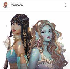Arte Monster High, Monster Prom, Monster High Dolls, Monster Girl, Personajes Monster High, Fanart, Mundo Comic, Body Glitter, Aesthetic Anime