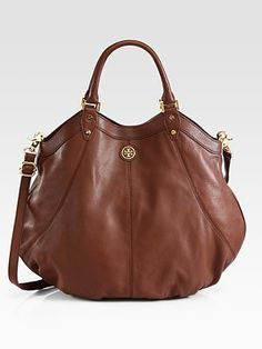 Absolutely my favorite purse I've posted recently.  Tory Burch - Dakota Convertible Hobo - Saks.com....LOVE this color