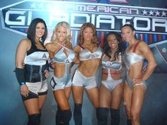 The American Gladiator women!