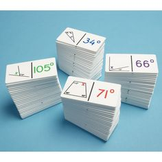 Angle Calculation Dominoes