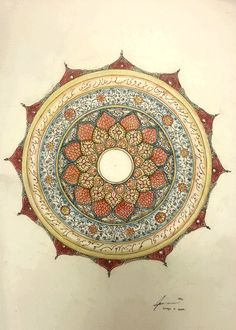 arabic ornament mandala