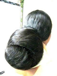 Bob Hairstyles For Thick, Bun Hairstyles For Long Hair, Indian Wedding Hairstyles, Permed Hairstyles, Braids For Long Hair, Beautiful Buns, Beautiful Braids, Beautiful Long Hair, Amazing Hair