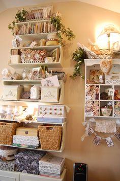 Storage and display shelves