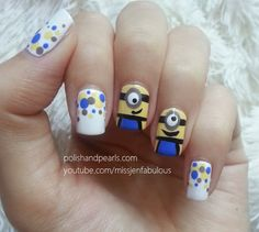 my minion nails! do you like them?