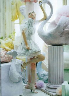 """""""A Magic World"""" for Vogue Italia by Tim Walker"""