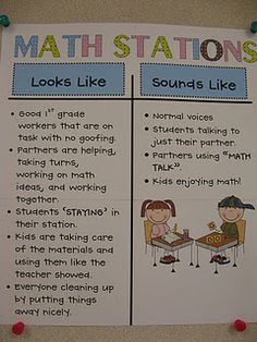 math work stations