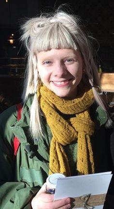Aurora Aksnes, Aurora Hair, Hair Inspiration, Hair Inspo, Aesthetic Beauty, Most Beautiful, Hair Beauty, Portrait, Polar Bears