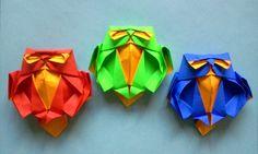 How to Make origami Fish Koi Sipho Mabona Origami Paper Folding, Origami And Kirigami, Origami Fish, Origami Butterfly, Origami Flowers, Origami Art, Oragami, Iris Folding Pattern, Origami Videos