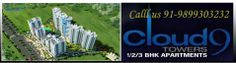 Cloud 9 Towers Vaishali  offers 1,2,3,4 BHK Residential Apartments at Vaishali makes  perfect residences for young executives, working students, beachelors, young couples on the move,  the elderly living alone or really anybody looking for compact,open ans simple to maintain,spaces, without compromissing on style.with 24 hrs.