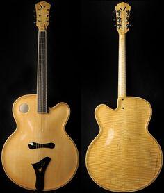 Benoît Lavoie – Luthier » Archtop #126