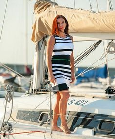 NAUTICAL FASHION Nautical Fashion, Dresses, Vestidos, Dress, Day Dresses, Gowns, Gown, The Dress
