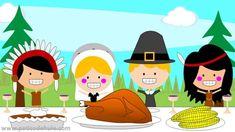 Un cuento sobre el día de acción de gracias, especialmente diseñado para niños.