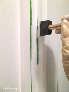 DIY shower and tub refinishing isn't scary, after all! My home had an ugly shower. We couldn't afford to replace it, so we painted it with BathWorks! Shower Towel, Diy Shower, Shower Tub, Tub Paint, Painting Shower, Bathroom Design Small, Bathroom Ideas, Tub Refinishing, Shower Makeover