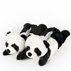 "Wishpets 12"" Panda Slippers"