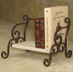 "This great little shelf will proudly display special books of all kinds. It makes a great gift idea for the executive as well as the cook. brbrliDimensions: 13.25""w x 10.5""d x 10""hlibrbrI..."