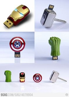 The Avengers USB Sticks: