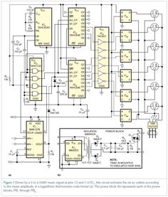 Display Circuit Diagram - Set your lights to music