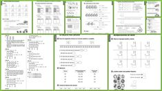 Math Formulas, 2nd Grade Math, Bullet Journal, Education, Maths, Origami, Spanish, Google, Projects