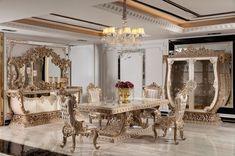 Elegant Dining Room, Luxury Dining Room, Dining Set, Luxury Sofa, Luxury Furniture, Dining Room Furniture, Home Furniture, Furniture Manufacturers, Teak Wood