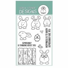 This set by Gerda Steiner is adorable and has so much potiental for some cute cards. - Affiliate Link