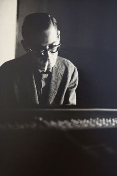 Bill Evans, Riverside Records Recording session, New York, NY, 1963