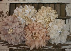 bridals flowers for all occasions. $24.00, via Etsy.