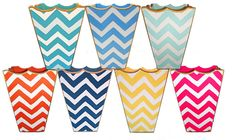 Chevron trash cans... Can be monogrammed!