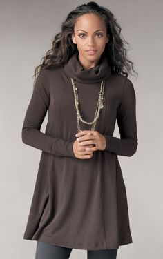 Love this cozy tunic from CAbi