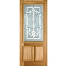 LPD Doors External Adoorable Oak Cleveland Door with Zinc Double Glazing Oak Front Door, Wooden Front Doors, Glass Front Door, Glass Door, External Oak Doors, Doors Online, Entrance Doors, Tall Cabinet Storage, Home Improvement