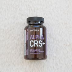 Learn more about doTERRAs Cellular Vitality Complex, Alpha CRS+ and how it can be helpful for maintaining a healthy lifestyle.