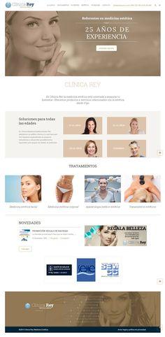 Clínica Rey moderniza su presencia digital con una nueva web de estilo clásico. http://pasquino.es/clinica-rey-moderniza-su-presencia-digital-con-una-nueva-web-de-estilo-clasico/ #wordpress #diseñoweb