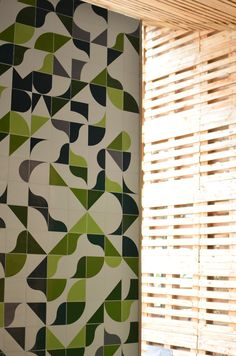 azulejos Handmade tiles can be colour coordinated and customized re. shape, texture, pattern, etc. by ceramic design studios
