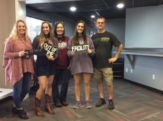 This group was trapped inside of Dr. Andrews lab!