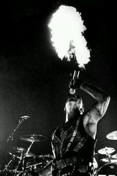 Till Lindemann, epic microphone :D