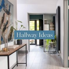 From #cleverstorage #solutions to stylish #lighting options, we have all the ideas you need to give your #hallway the wow factor. Much more than just a #corridor that leads to other places, a hall is an important part of your home and it's definitely worthy of your #decorating attention. If you're planning a new hallway, we have the look for you. From #traditionalhallways to #countrystylehallways and #sleek #modernentrancehalls, you'll find your #dreamscheme in a flash. #hallwayideas… Rustic Decor, Farmhouse Decor, Hallway Designs, Hallway Ideas, Narrow Hallway Decorating, House Entrance, Wow Products, Ideal Home, Home Accessories